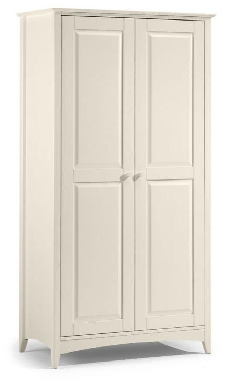 Cameo 2 Door Wardrobe - Stone White
