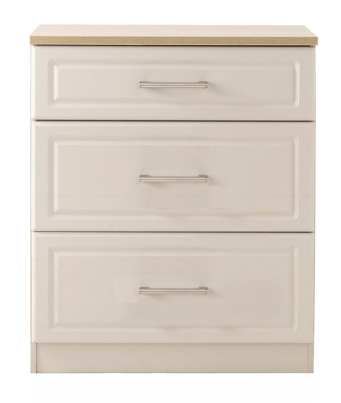 Sussex 3 Drawer Deep Chest of Drawers