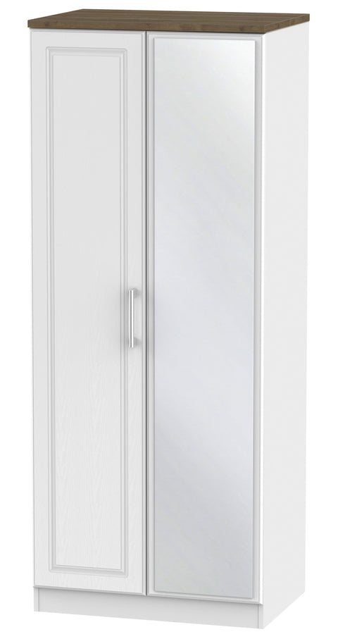 Sussex 2 Door Mirror Wardrobe
