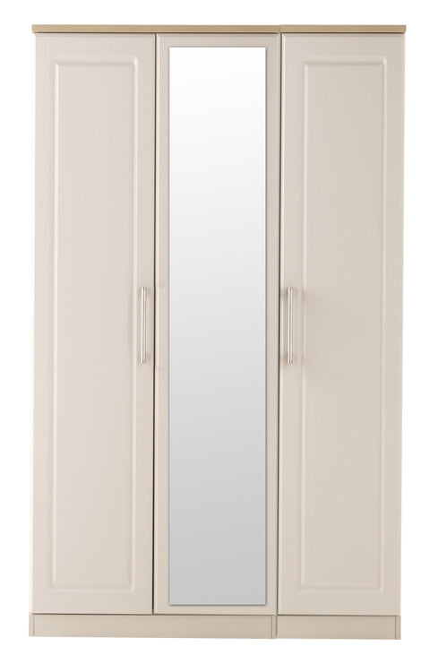 Sussex 3 Door Mirror Wardrobe