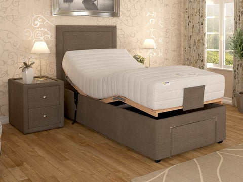 MiBed Dreamworld Lindale King Size Memory Adjustable Bed