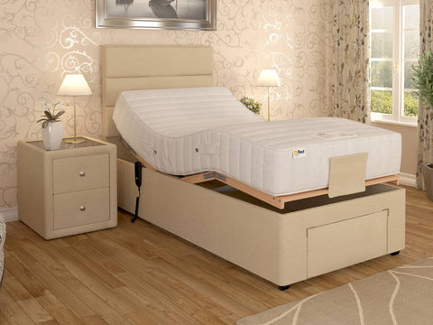 MiBed Dreamworld Lindale Small Single Pocket Adjustable Bed