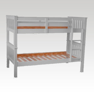 Mission White Bunk Bed (mattress options)