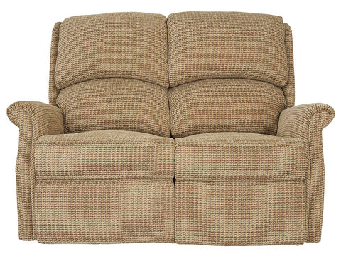 Celebrity Regent 2 Seat Fixed Fabric Settee