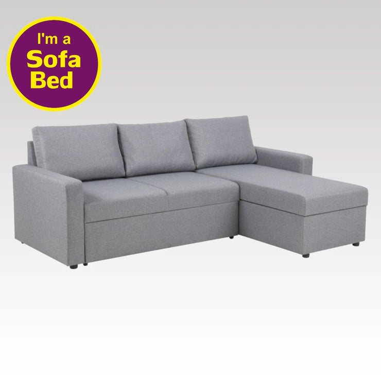 Cramento Corner Sofa Bed with Storage