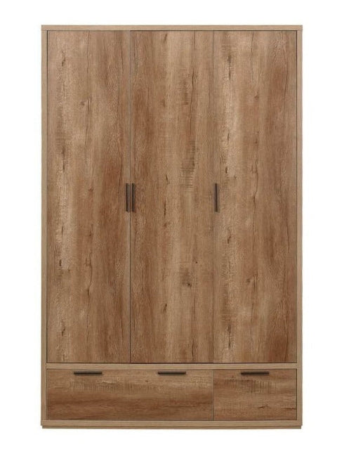 Stockwell 3 Door + 2 Drawer Wardrobe