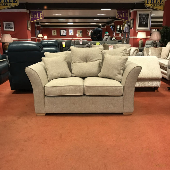 Sienna 2 Seater Sofa scatter back  (Super Cheap)