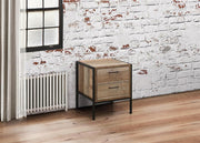 Urban 2 Drawer Bedside Table