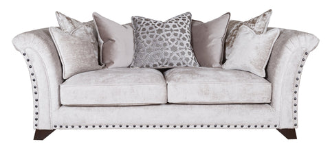 Vesper 3 Seater Pillow Back Sofa