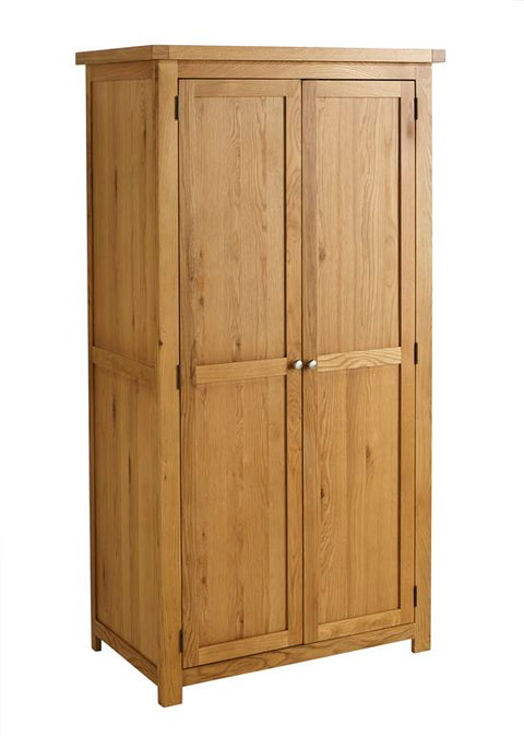 Sophie 2 Door Oak Wardrobe