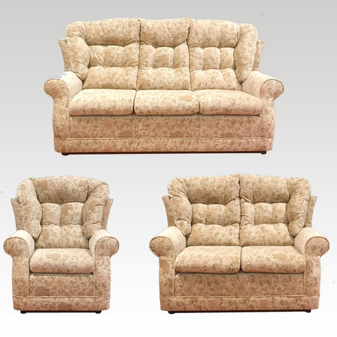 Windsor 3 seater sofa 2 seater sofa and chair set