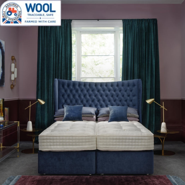 Hypnos Wool Origins 10 Divan (Red Tractor Traceable)
