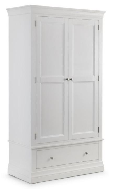 Clermont 2 Door 1 Drawer Wardrobe