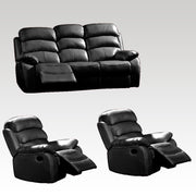 Emma 3 Seater Manual Recliner & 2 Recliner Chairs