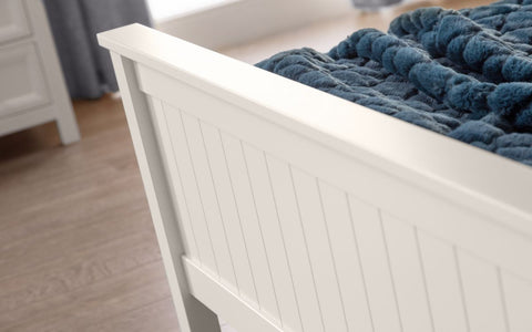 Maine Bed Frame - Surf White