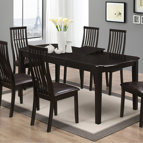 Cecilia Extendable Dining Set (6 chairs)