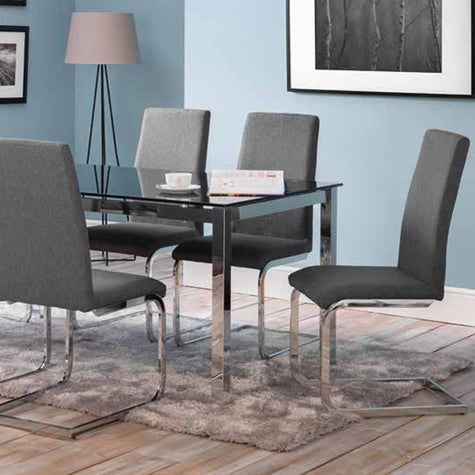 Tempo Dining Set (6 Chairs)