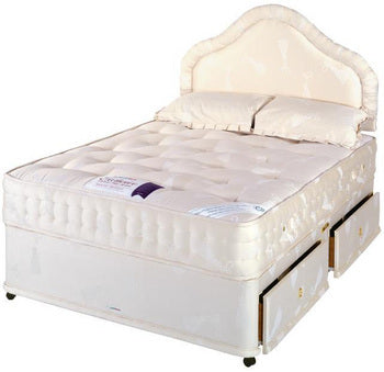 House Of Reeves Small-Double Backcare 1400 Deluxe Four-Drawer Divan Bed