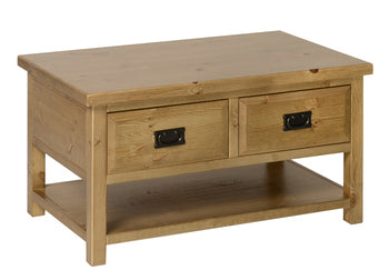 Devon Coffee Table with Drawers