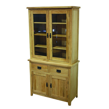 Lincoln Oak Glazed Display Unit