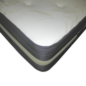 Single Harrogate Pocket Sprung and memory foam Mattress.