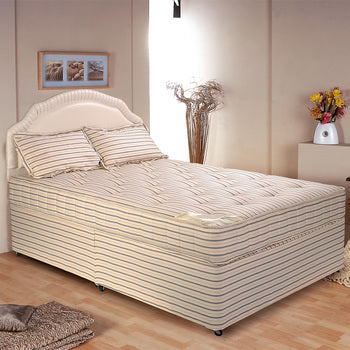 Double Orthopaedic Four-Drawer Divan Bed (Extra Firm)