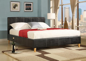 Lincoln Leather Bedstead