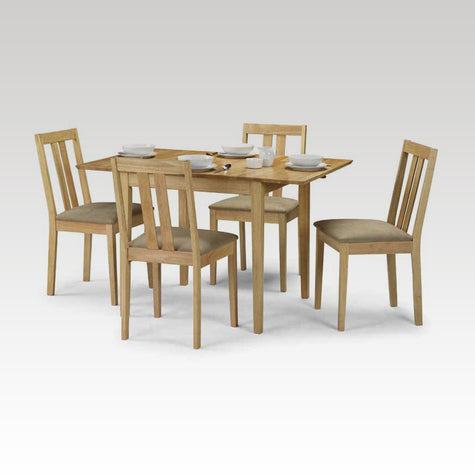 Rufford small extending table + 4 chair set
