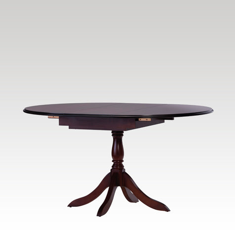 Classic Circular Pod Flip Centre Extending Dining Table