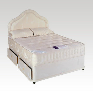 House Of Reeves King-size Backcare 1400 Deluxe Four-Drawer Divan Bed