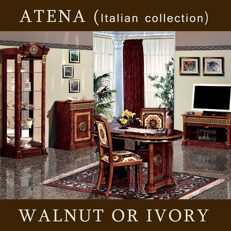 Atena Walnut or Ivory