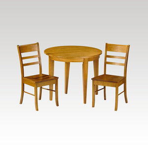 Consort 'half moon' fold-out table (2 chairs)