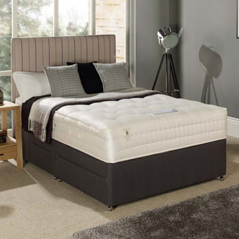 Broadway Double Four-Drawer Divan Bed (Medium Firm)
