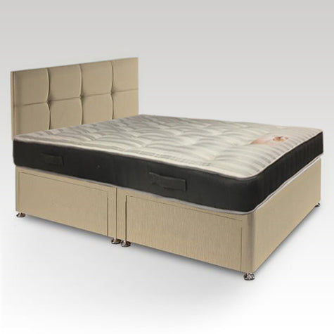 Kozee Ortho Double Four-Drawer Divan Bed (Extra Firm)