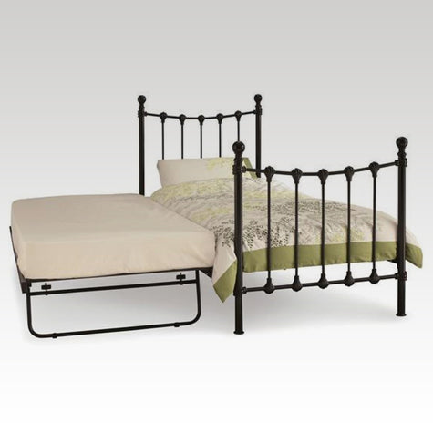 Marseilles Guest Bed Frame in Black