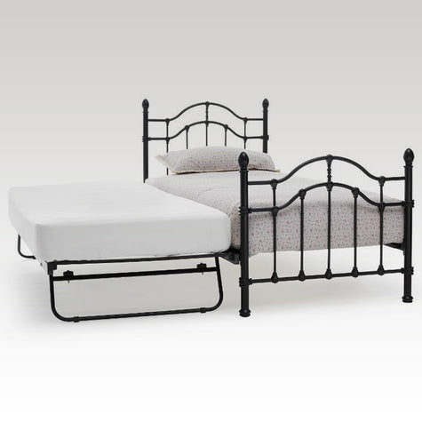 Paris Guest Bed Frame in Black