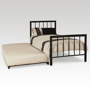 Modena Guest Bed Frame in Black
