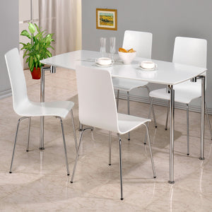 Dove Rectangle Set (4 chairs)