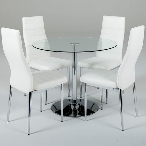 Verona Round Set (4 Chairs)
