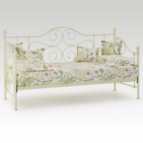 Florence Single Day Bed (Ivory)