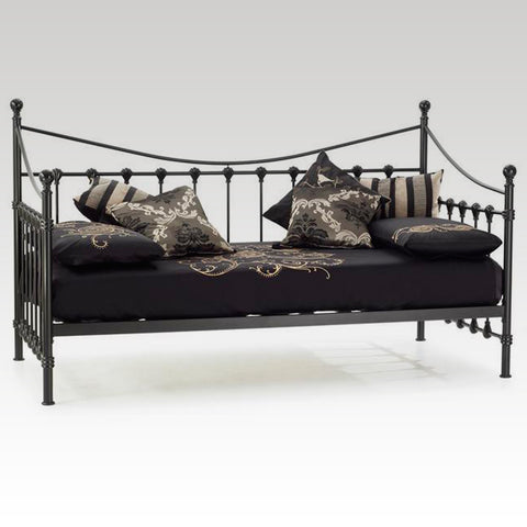 Marseilles Single Day Bed (Black)