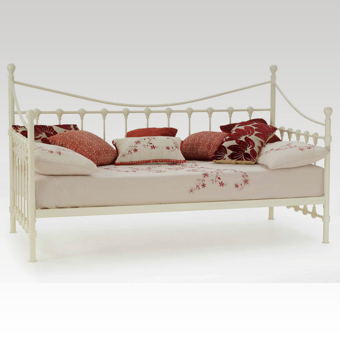 Marseilles Single Day Bed (Ivory Gloss)