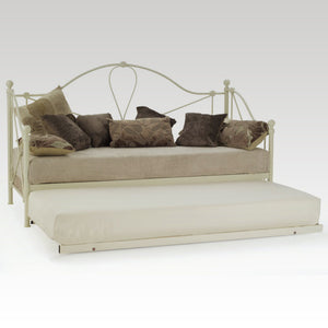 Lyon Single Day Bed & Guest Bed (Ivory Gloss)
