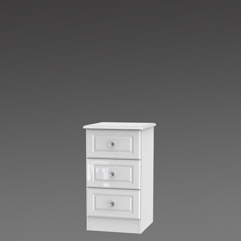 Crystal 3 Drawer Locker