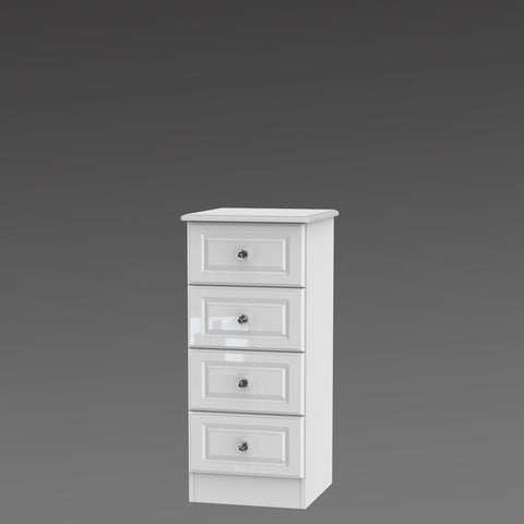 Crystal 4 Drawer Locker