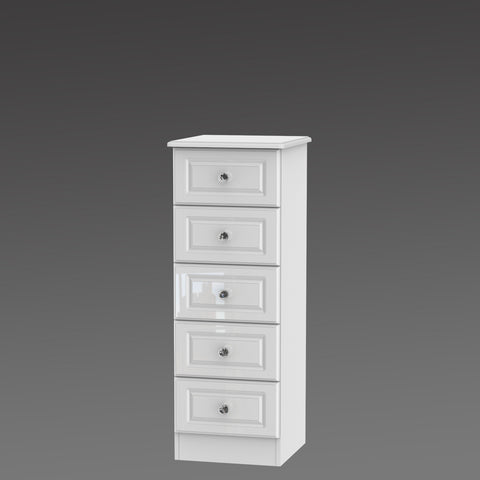 Crystal 5 Drawer Locker