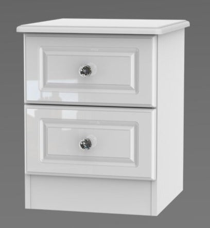 Crystal 2 Drawer Locker