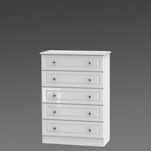 Crystal 5 Drawer Chest