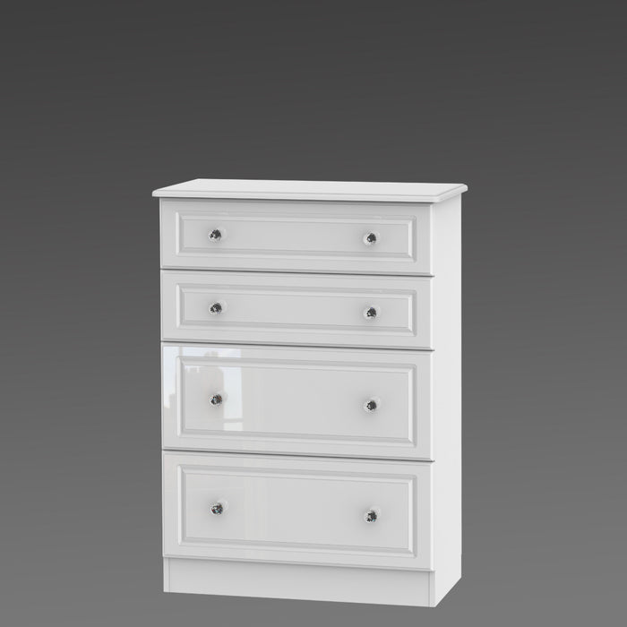 Crystal 4 Drawer Deep Chest