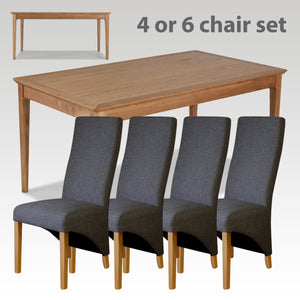 Avon Ext Dining Table (4 or 6 chairs)